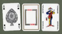 Vintage  Advertising  playing cards Skol lager,